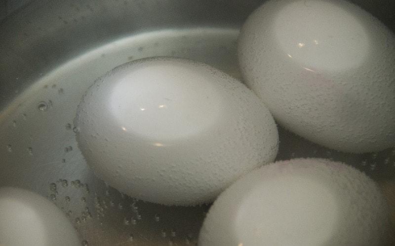 как варить гусиные яйца