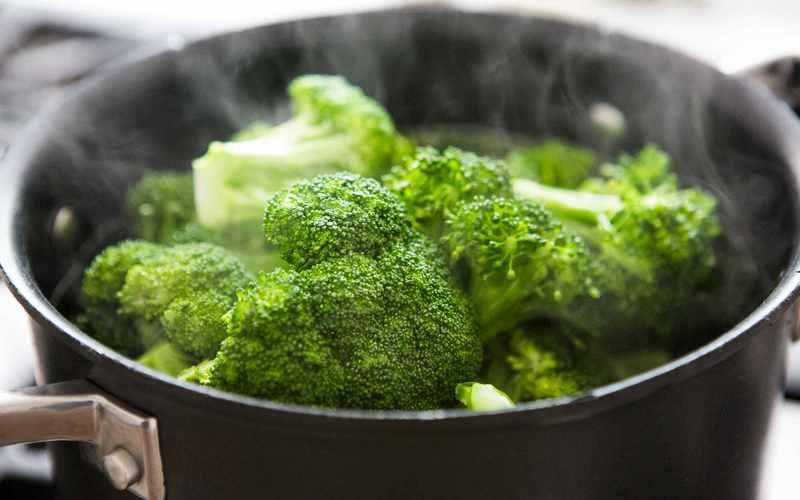 сколько минут варится капуста брокколи