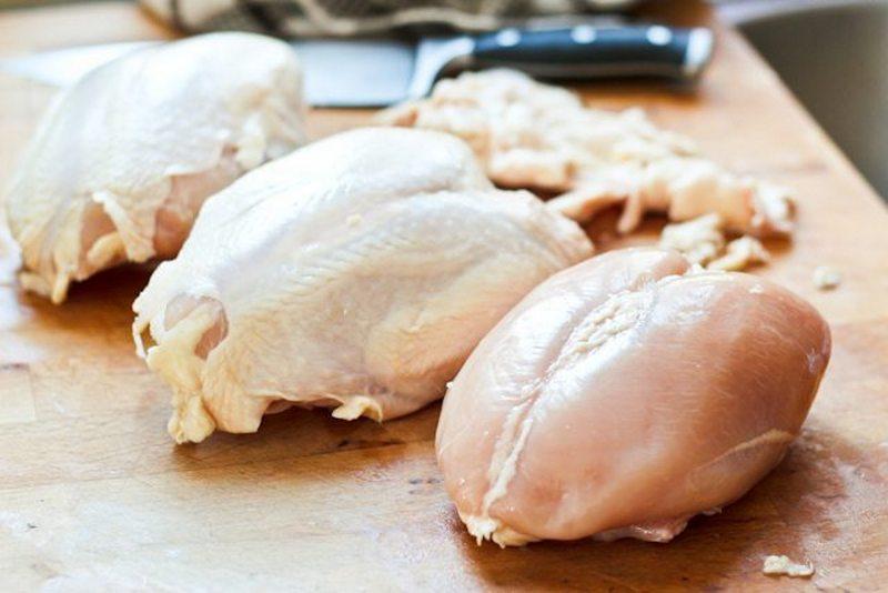 сколько варить куриные грудки