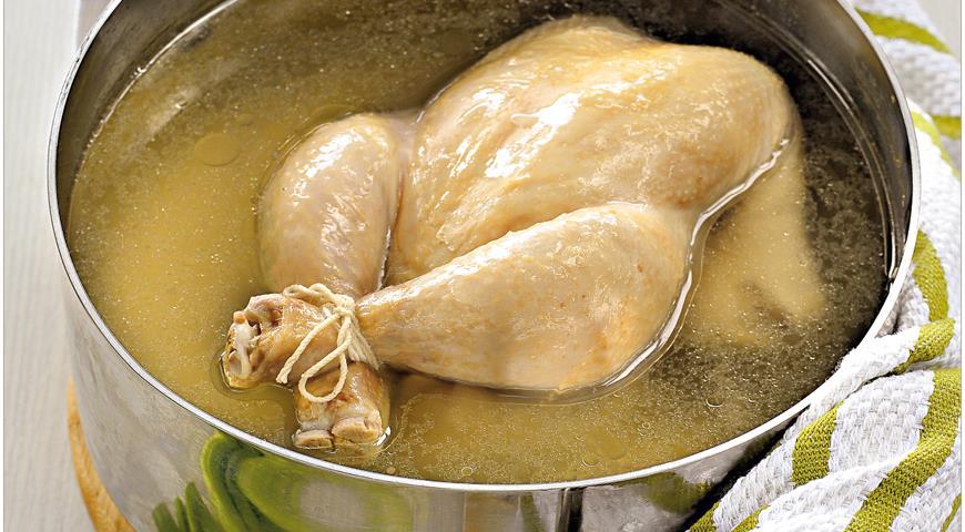 сколько варить курицу