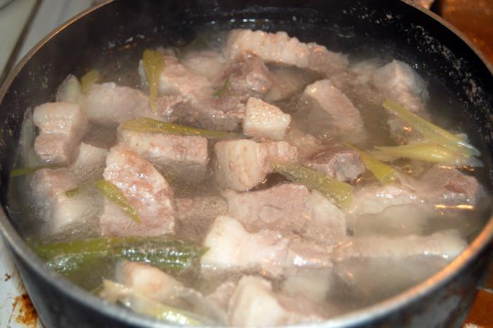 сколько варить свинину